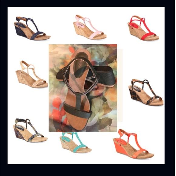 67e68fe15533d NWOB Style   Co Mulan Wedge Sandals. M 5aea0f9c00450ff35b47f0c9